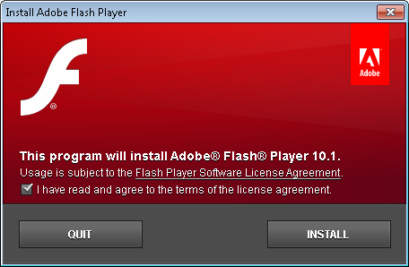 flashplayer10.1